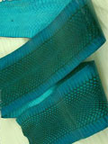 Implora Turquoise  Cobra Snake Skin Hide