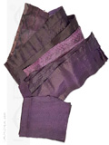 Snakeskin Scraps Purple Violet Assorted Color