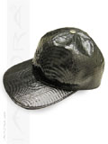 Cobra Snakeskin Hat Black Baseball Cap