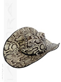 Snakeskin Cowboy Hat Burmese Python Home Decor